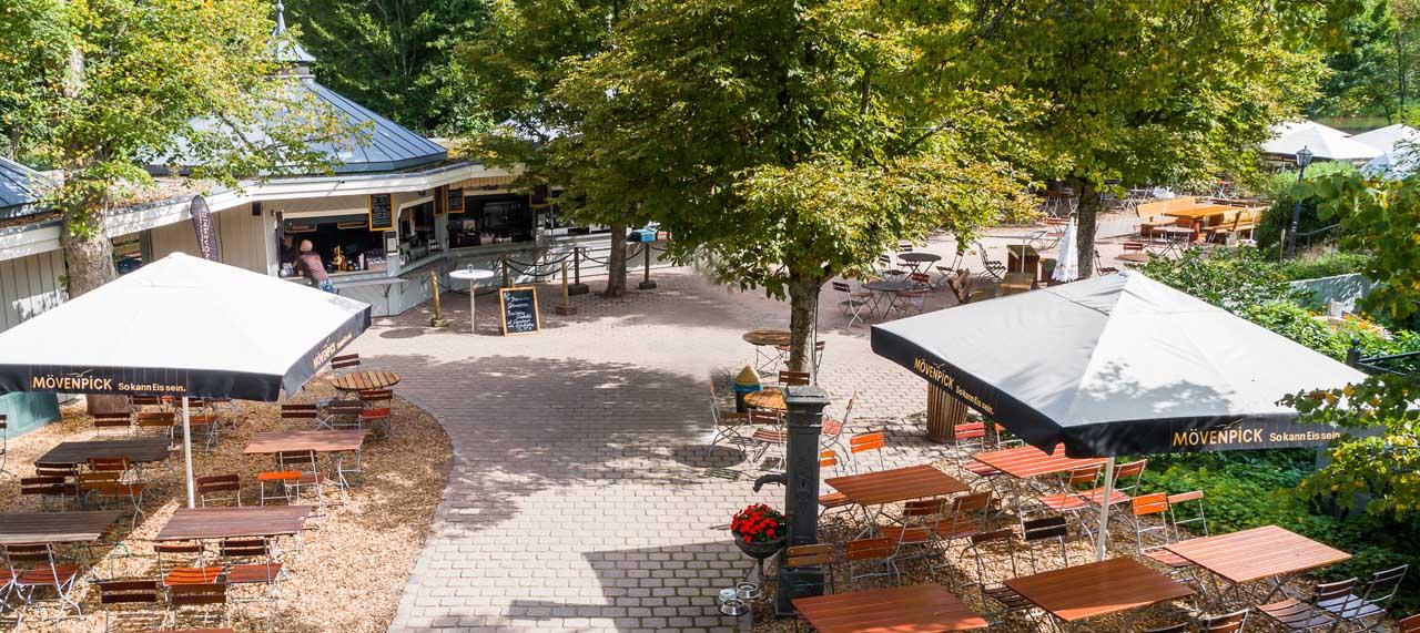 Seehaus Pforzheim Landgasthof Grosser Biergarten Cafe